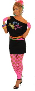 80s Party Girl Dress