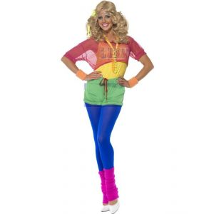 Let's Get Physical 80s Costume