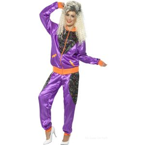 80s Sweat Suit Outfit