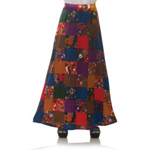 70s Patchwork Skirt
