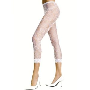 80s Capri Lace Leggings
